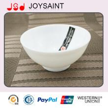 Seguridad Bulk Embalaje Glassware Bowl o estrellas individuales Decore Glassware Rice Bowl for Promotion