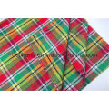 100% Cotton Yarn Dyed Check Design Shirt Fabric