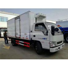Caminhões refrigerados novos da caixa do congelador 4x2 para venda