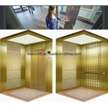 Espelho Gravado Aço Inoxidável Commerical Passenger Elevator