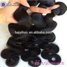 Emaranhado livre sem galpão cabelo tecelagem atacado onda do corpo do cabelo virgem best selling 100% não processado Mink cabelo