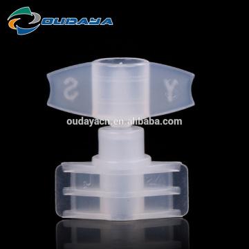 Tampa plástica de plástico para cuidados com a pele