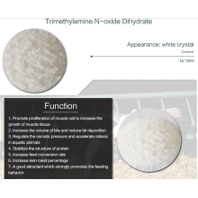 Trimethylamine-n-oxide Dihydrate Alimentation aquatique