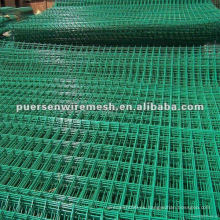 Panel de malla de alambre soldado PVC usado para la venta