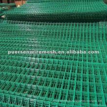 Painel de malha de arame soldado PVC usado para venda