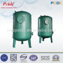 Proceso de tratamiento de agua de 1-100 t / h filtro de agua de carbón activo