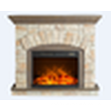 ready-made good quality polystone electric fireplace mantel