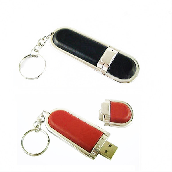 Custom Design Leather Full Capacity Pen Drive