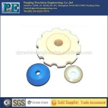 Custom Injektion PVC Teile, CNC-Bearbeitung Kunststoff Teile, Auto Teile
