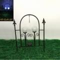 Glasball Solarlicht Linellae Metall Garten Zaun Handwerk