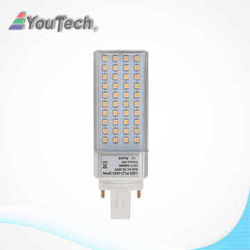 LED G23 8W Lámpara de enchufe giratorio