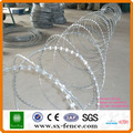 Stainless Steel Razor Barbed Wire Concertina Razor Barbed Wire Razor Barbed Wire