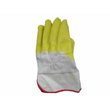 Heavy Duty Safety Cuff Latex Coated Worki Glove