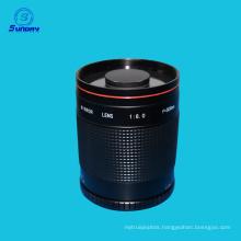 T-Mount 500mm F/8 Reflex Mirror Macro Camera Lens For Nikon Canon DSLR SLR