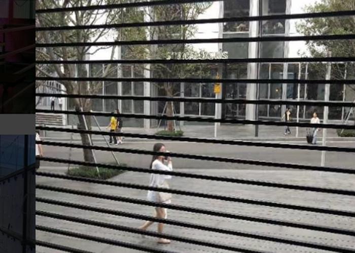 LED mesh panel display