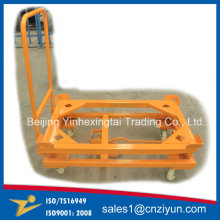 Custom Welding Metal Hand Trolley with Powder Coating
