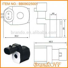 Bobina solenoide de alta calidad para reductor de presión Sistema de combustible Solenoide Válvula