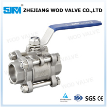 3-PC Stainless Steel Ball Valve (VALVULA 3 ESFERIA)