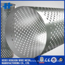 166 mm out diameter Perforated filter tube