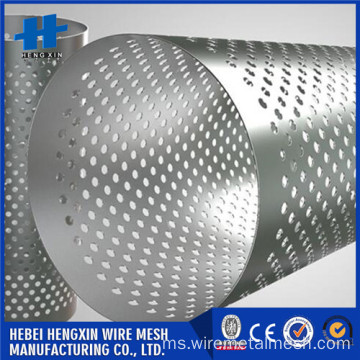 119 mm keluar kartrij penuras Perforated diameter