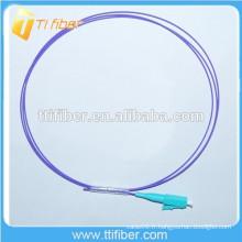 OM4 LC fibre optique Pigtail 0.9mm
