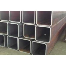 Black Square Steel Tube Pipe Bahan Bangunan
