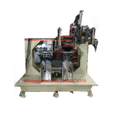 Machine de brosse de disque de 3 têtes à grande vitesse de commande numérique par ordinateur de 5 axes (2 driling et 1 tufting)