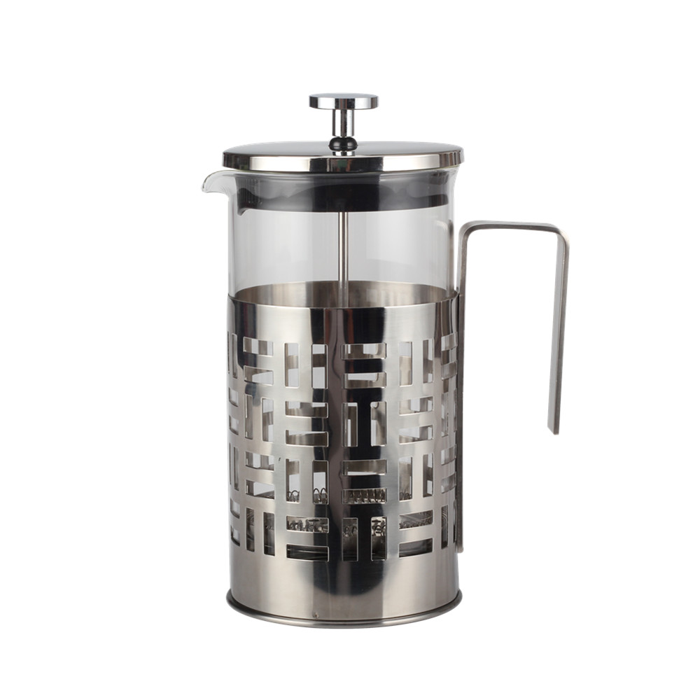 Heat Resistant Borosilicate French Press
