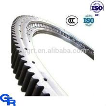 Rotary mesa giro anel, engrenagem externa girou anel de rolamento, anel de giro de precisão