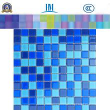 Vidro de mosaico de vidro quadrado com preço de fábrica