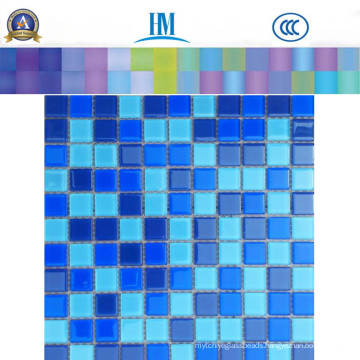 Square Swimming Pool Glass Mosaic Glass with Factory Price