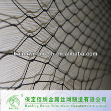 knotted mesh /retaining wall wire mesh