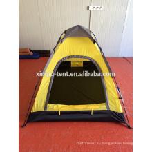 1-2 человека автоматическое полюс купол палатки кемпинга