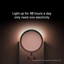 2017 alibaba pépinière LED nuit avec lampe murale bébé sommeil couloir lampe