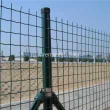 2%27%27x3%27%27+Green+PVC+Coated+Welded+Wire+Mesh+Fence