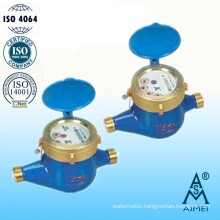 Volumetric Rotary Piston Dry Type Brass Water Meter