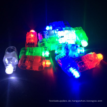 Leuchten Sie blinkenden LED-Licht-Finger-Ring