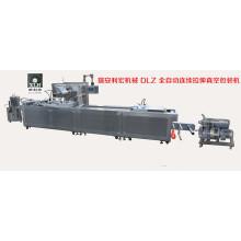 Dlz-320 полностью автоматическая машина для вакуумной упаковки электрических компонентов непрерывного действия
