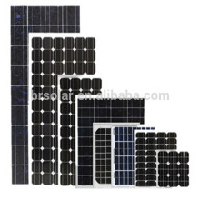 Alibaba Chine haute efficacité 10W à 300W Prix de cellules de panneau solaire