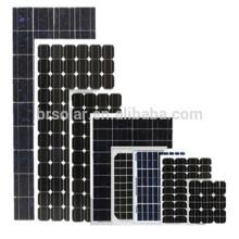 Алибаба Китай высокая эффективность 10W к 300W солнечные панели Цена сотового