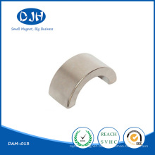 Dajinhua Arc Shaped Permanent NdFeB Moto Magnet