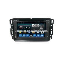 """Système multimédia de voiture 8 """", usine directement! Quad core, GPS, radio, bluetooth pour GMC"""
