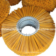 PP Material Yellow Mixture Road Sweeper Brush (YY-024)