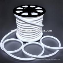 Высокое качество светодиодные гибкая трубка водонепроницаемый IP65 светодиодный неон свет праздник свет веревочки открытый белый цвет LED гибкий неон полосы света