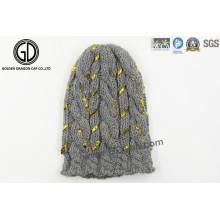 2015 Hot Sale Winter Grand Bonnet en coton à manches longues