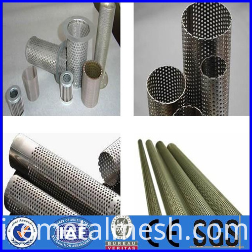 high quality perforated metal filter