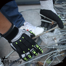 SRSAFETY great quality gloves with best price anti-impact gloves in china