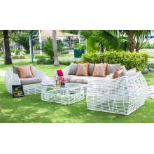 Ensemble de canapé Poly Rattan PE pour jardin extérieur - Collection de mobilier ATC