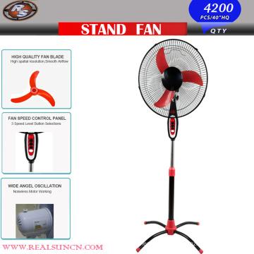 OEM 16inch Standing Fan mit Ochsen Banane Blade