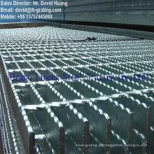 Galvanizado de aço soldadas Grating por Grating máquinas